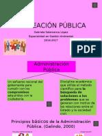 Planeación Pública