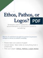 Ethos Pathos Logos Introduction