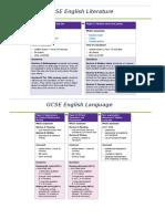 Y11 Revision Checklist