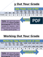Working Out Your Grade - Language