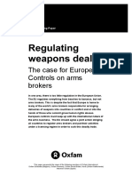 Regulating Weapons Deals