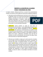 Pronunciamiento Acym Del Peru
