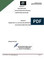 Memorias de Cálculo Electricas de Consulta Completa Para Proyecto