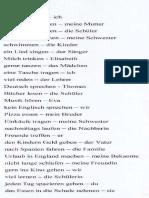 Sätze Bilden auf Deutsch DAF