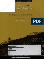 Environments and Livelihoods