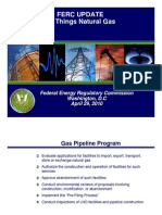 FERC Update All Things Natural Gas April 2010