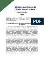 Os Sindicatos Na Época Da Decadência Imperialista