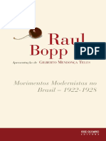 Movimentos Modernistas No Brasi - Raul Bopp