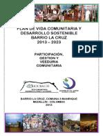 Plan de Desarrollo Barrio La Cruz 2013 2023