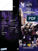 Warhammer 40000 - Dawn of War - Soulstorm - Manual - PC