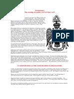 Free Masons, Satanism and Symbolism