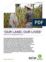 'Our Land, Our Lives'
