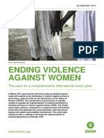 Ending Violence Against Women