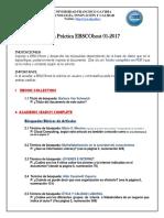 Práctica  EBSCOhost