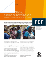 Citizens, State, and Good Governance