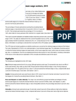 BLS Characteristics of Minimum Wage Workers 2015