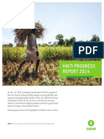 Haiti Progress Report 2014