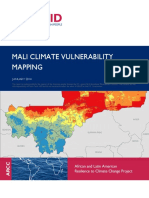Mali Climate Vulnerability Mapping