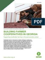 Building Farmer Cooperatives In Georgia