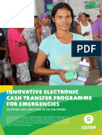 Innovative Electronic Cash Transfer Programme for Emergencies