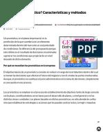¿Qué Es Un Pronóstico_ Características y Métodos • GestioPolis