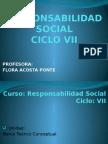 Unidad I y II Responsabilidad Social