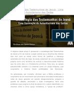 Escatologia Das Testemunhas de Jeová