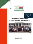 l Administration de l Assemblee Nationale de Madagascar - Novembre 2014
