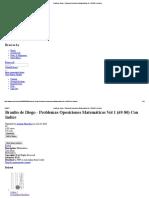 Braulio de Diego - Problemas Oposiciones Matemáticas Vol 1 (69-80) Con Indice