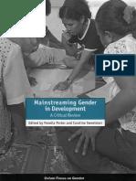 Mainstreaming Gender in Development