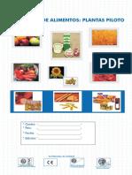Tecnologia Alimentos Plantas Piloto