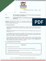 ExamAdvisory 04 s2017 March CSE-PPT