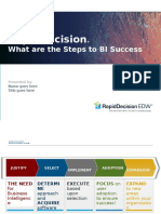 What Are the Steps to BI Success 2013-03-05