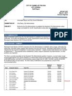 Assistant City Administrator Salary Range 03-07-17