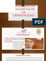 Fundamentos Biologicos de La Criminalidad