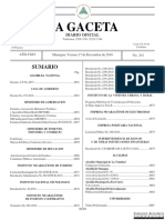 Cedulas Gaceta - Diario Oficial de Nicaragua - No