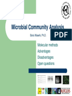 Wawrik Microbial Community Analysis