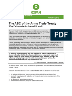 The ABC of the Arms Trade Treaty