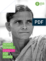 Indians Demand Equality for Women