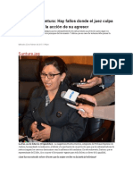 Bolivia. Magistrada Suntura asegura que los administradores de justicia tienen un protocolo para juzgar con perspectiva de género.