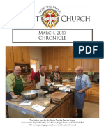 Christ Church Eureka March Chronicle 2017
