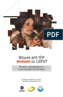 Where are the women in LSPs?: Women's representation in local strategic partnerships