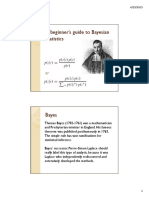 Beginners Bayesian