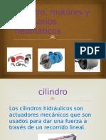 Cilindro, Motores y Accesorios Neumáticos