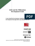 Debt and the Millennium Development Goals