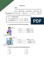 Comparatives (guía)