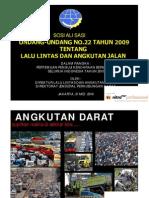 Sosialisasi Uu Llaj Pertemuan Penguji Seluruh Indonesia