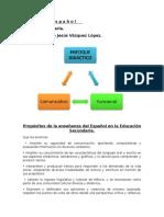 Enfoque Proposito Del Español