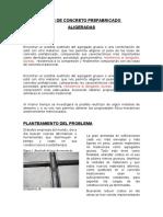 Losas de Concreto Prefabricado Entrega Final