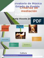 Criterios de Mediación